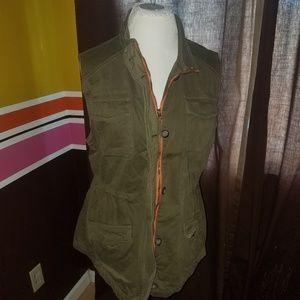 Lucky Brand Drawstring Vest